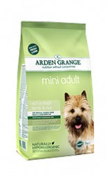 Сухой корм для собак Arden Grange Adult Dog Lamb & Rice Mini ягненок с рисом